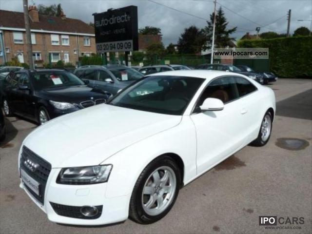 2007 Audi  A5 2.7 TDI AMBITION 190 MULTITRONIC IMPORT Sports car/Coupe Used vehicle photo