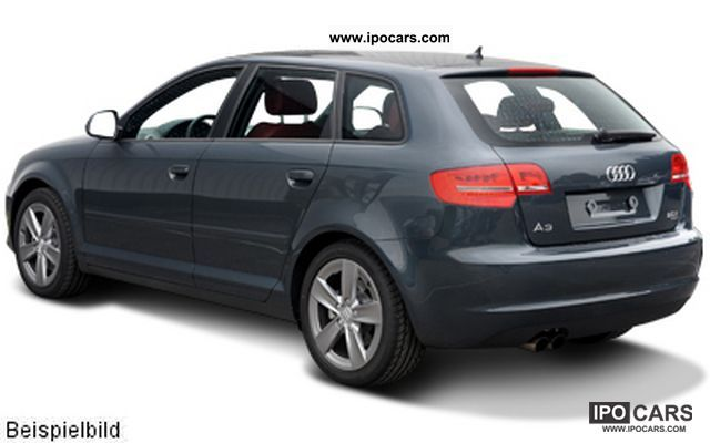 2011 audi a3 1 6 tdi ambiente sportback car photo and specs. Black Bedroom Furniture Sets. Home Design Ideas