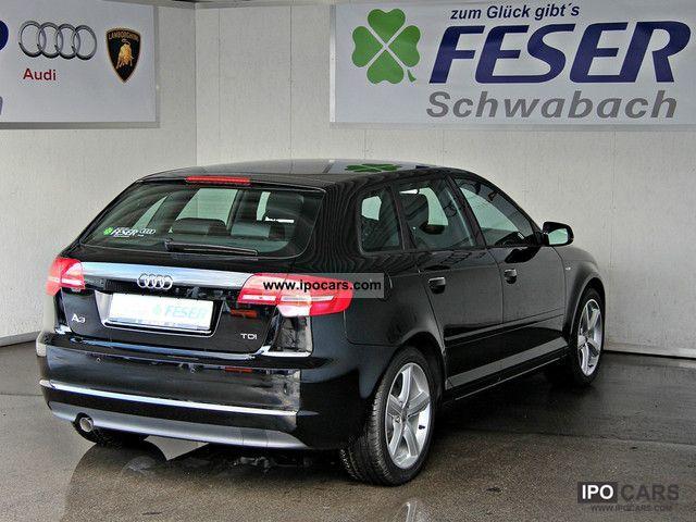 2011 Audi A3 Spb Bluetooth 2 0 Tdi S Line Xenon U V M