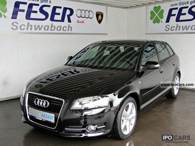 2011 Audi  A3 SPB. S Line 2.0 TDI Xenon Bluetooth u.v.m. Limousine Employee's Car photo
