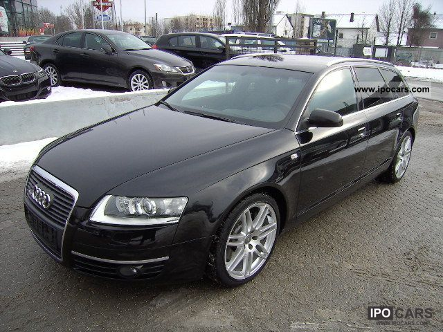 2008 audi a6 3 0tdi qu av bus plus s line 19 car photo and specs. Black Bedroom Furniture Sets. Home Design Ideas