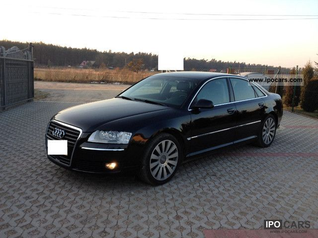 2006 Audi  A8 3.0 TDi DPF Quattro Navi + TV, bi-xenon Limousine Used vehicle photo