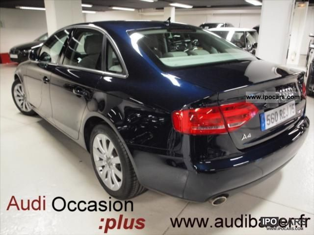 2008 audi a4 2 7 tdi190 dpf ambition luxe mtro car photo and specs. Black Bedroom Furniture Sets. Home Design Ideas