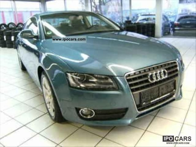 2007 Audi  A5 2.7 TDI DPF ENVIRONMENT MULTITRONIC A Limousine Used vehicle photo