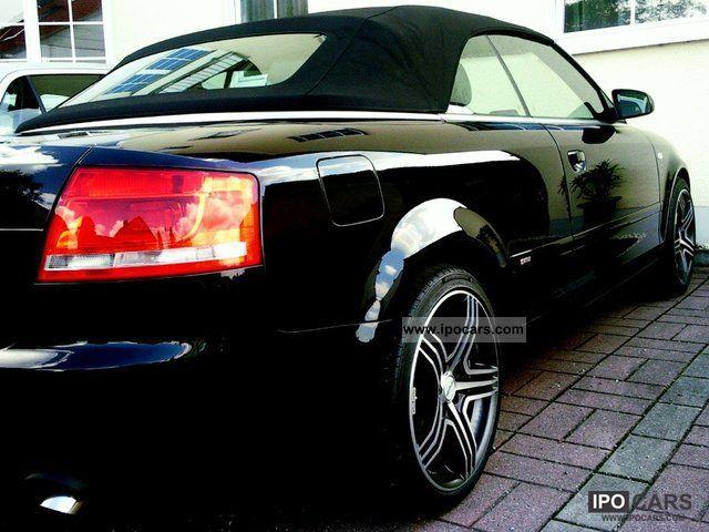 2006 audi a4 cabriolet 3 0 tdi s line navi xenon leather. Black Bedroom Furniture Sets. Home Design Ideas