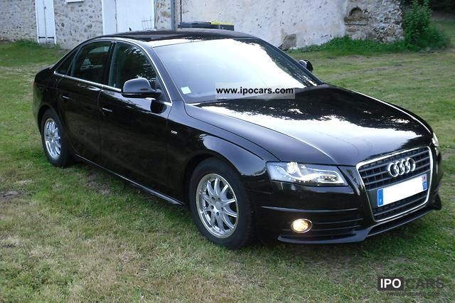 2009 audi a4 s line plus 2 7 tdi v6 190ch 78000kms 26 000 car photo and specs. Black Bedroom Furniture Sets. Home Design Ideas