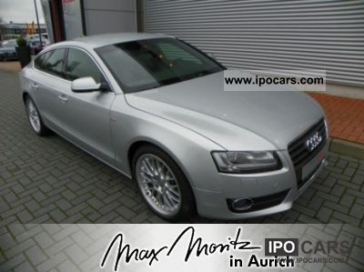 2011 Audi  A5 Sportback 2.0 TFSI S-line xenon / Handyvorber. Estate Car Used vehicle photo