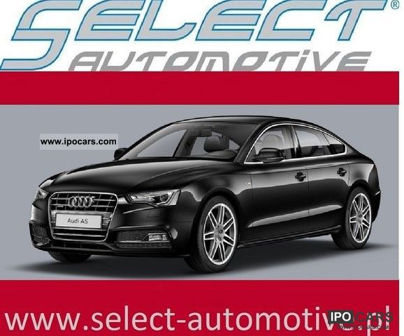 2012 Audi  A5 Sportback 1.8 TFSI 160KM NOWY Limousine Used vehicle photo