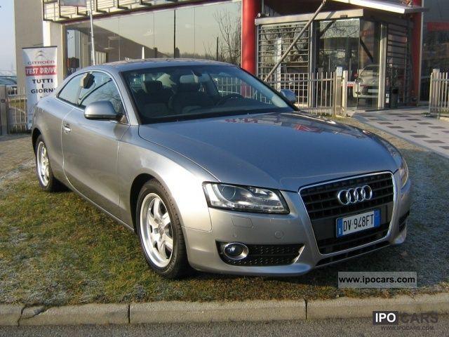 2009 Audi  A5 2.7 V6 TDI F.AP. Ambition Sports car/Coupe Used vehicle photo