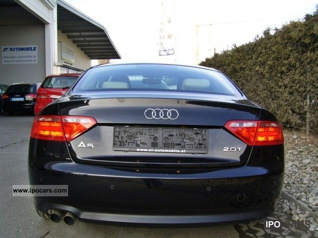 2009 Audi A5 Coupe 2 0t Fsi Car Photo And Specs