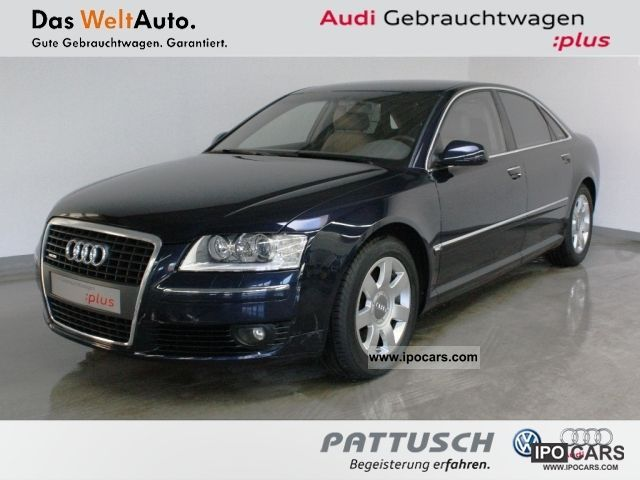2007 Audi  A8 4.2 FSI Q Leather / Alcantara Navi Xenon Limousine Used vehicle photo