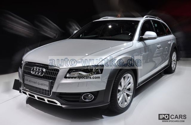 2011 Audi  A4 allroad quattro 2.0 TDI Estate Car New vehicle photo