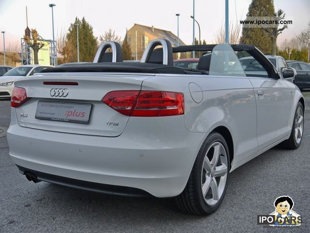 2011 audi a3 cabriolet 1 8 s line tfsi navi xenon car photo and specs. Black Bedroom Furniture Sets. Home Design Ideas