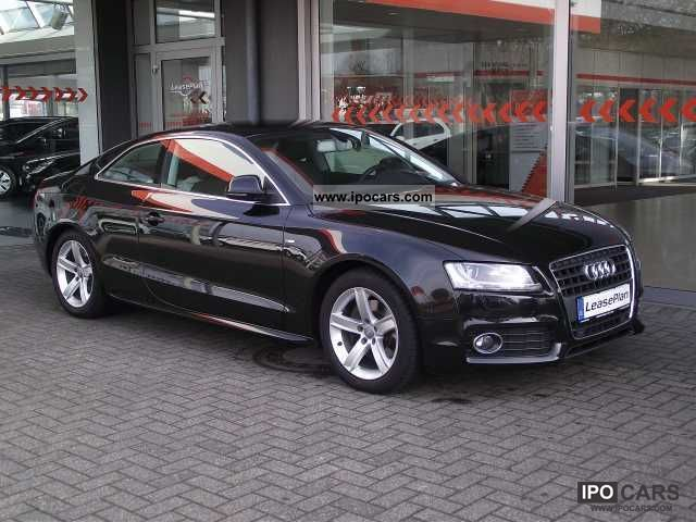 2009 Audi  A5 2.7 TDI DPF Leder/Xenon-Plus/Navi/Klima/PDC7T Sports car/Coupe Used vehicle photo