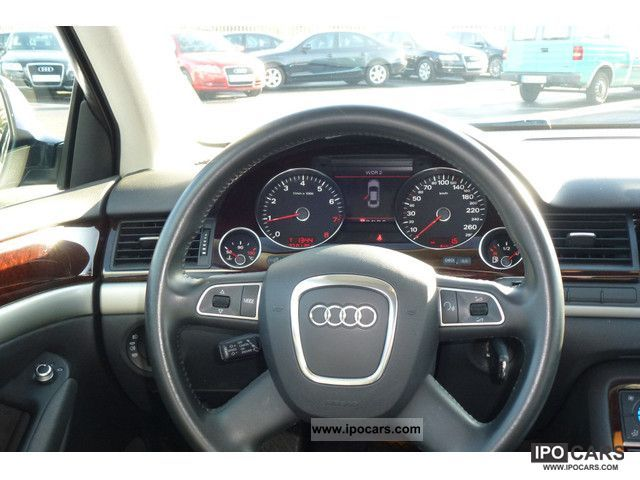 2008 Audi A8 Saloon 3 2 Fsi 191 Kw Multitronic Car Photo And Specs