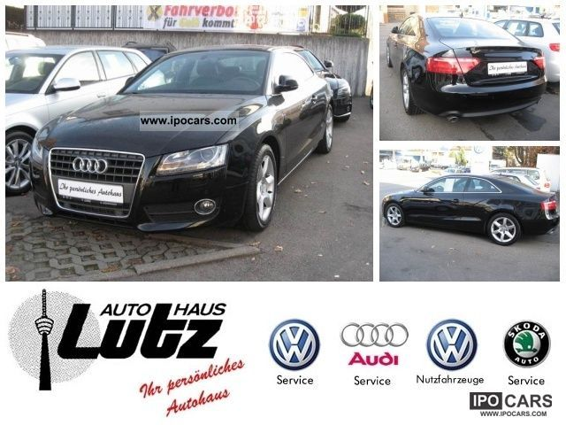 2008 Audi  A5 Air Navi Xenon PDC leather electric seats Sports car/Coupe Used vehicle photo