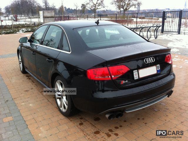 2009 Audi S4 30 V6 Tfsi Quattro Automatic Car Photo And Specs