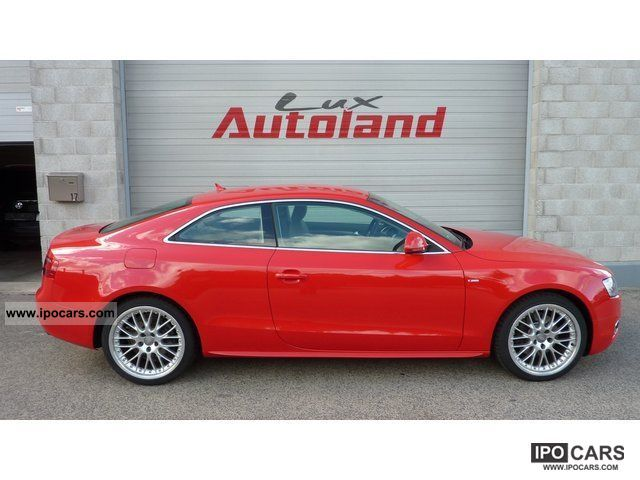 2009 Audi  A5 2.7 TDI S-Line Ext * Xenon * leather * 19 * Sports car/Coupe Used vehicle photo