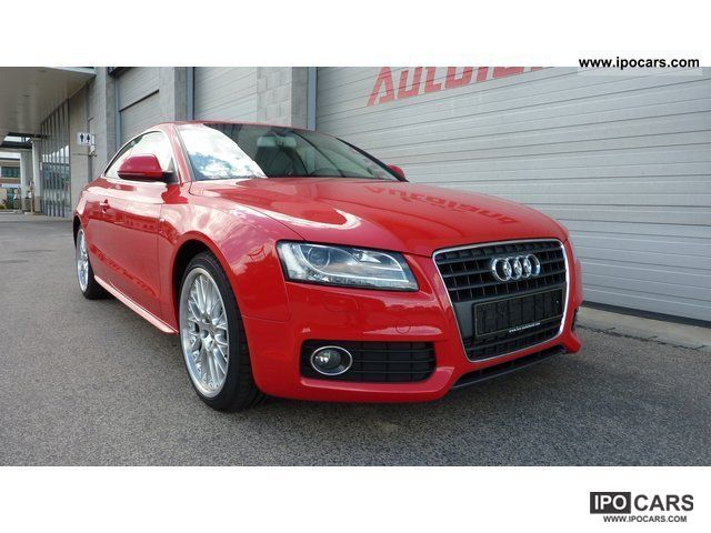 2009 audi a5 2 7 tdi s line ext xenon leather 19 car photo and specs. Black Bedroom Furniture Sets. Home Design Ideas