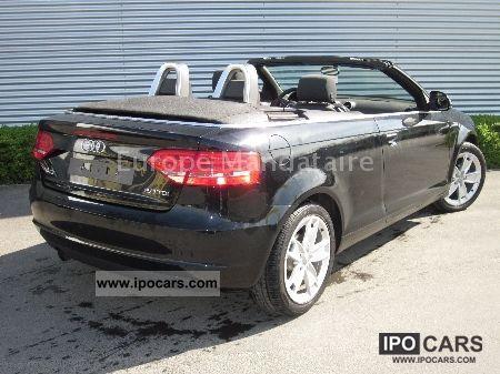 2010 audi a3 cabriolet 2 0 tdi 140 dpf ambition car photo and specs. Black Bedroom Furniture Sets. Home Design Ideas