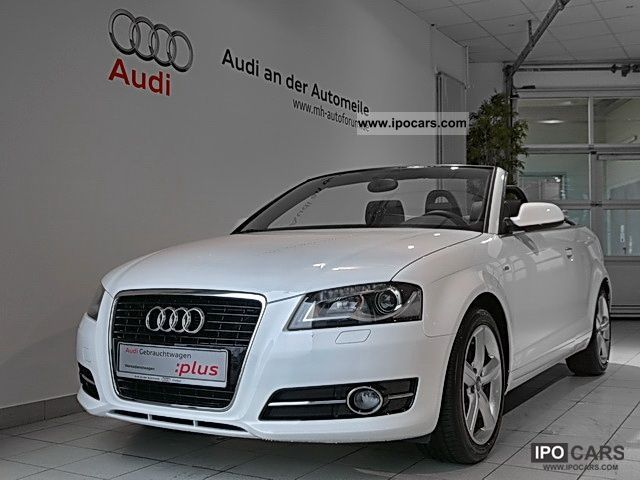 2011 audi a3 cabriolet s line s line 1 8 tfsi navi xenon car photo and specs. Black Bedroom Furniture Sets. Home Design Ideas