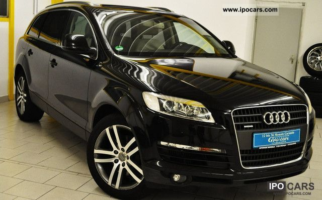 2006 audi q7 3 0tdi quatr leather 7sit camera air pano xeno car photo and specs. Black Bedroom Furniture Sets. Home Design Ideas