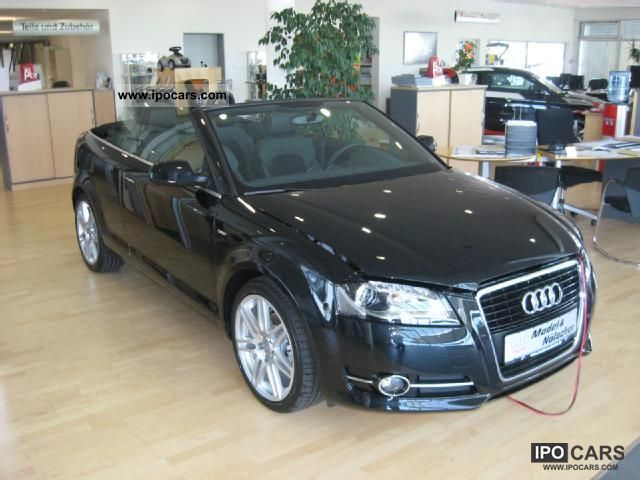 2012 audi a3 cabriolet s line xen alu 18 car photo and specs. Black Bedroom Furniture Sets. Home Design Ideas