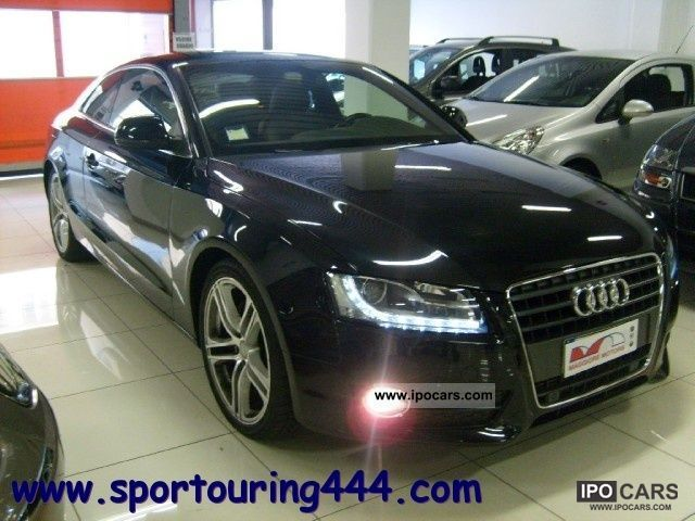 2009 Audi  A5 2.7 V6TDI FAP SLine MULTITRONIC Sports car/Coupe Used vehicle photo