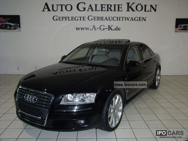 2006 Audi  A8 6.0 W12 Long Version Navi-TV/EGSD/VOLL Limousine Used vehicle photo