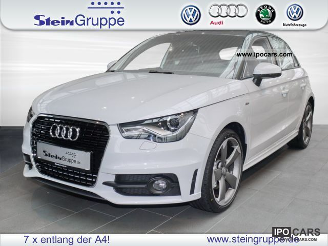 2011 Audi  A1 Sportback 1.4 TFSI S line S 136 185 kWPS Limousine New vehicle photo