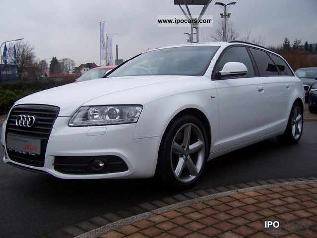 2009 Audi  A6 Avant S-Line [2.7 TDI (DPF) multitronic] Estate Car Used vehicle photo