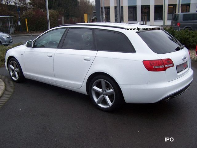 2009 audi a6 avant s line 2 7 tdi dpf multitronic car photo and specs. Black Bedroom Furniture Sets. Home Design Ideas