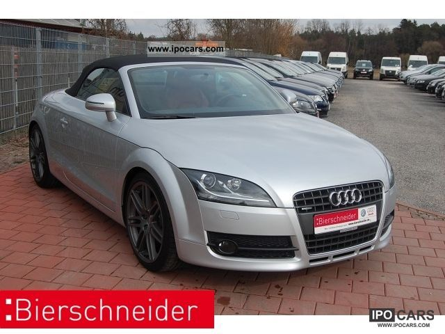 2010 Audi  TT Roadster 2.0 TDI quattro - RED LEATHER XENON N Cabrio / roadster Used vehicle photo
