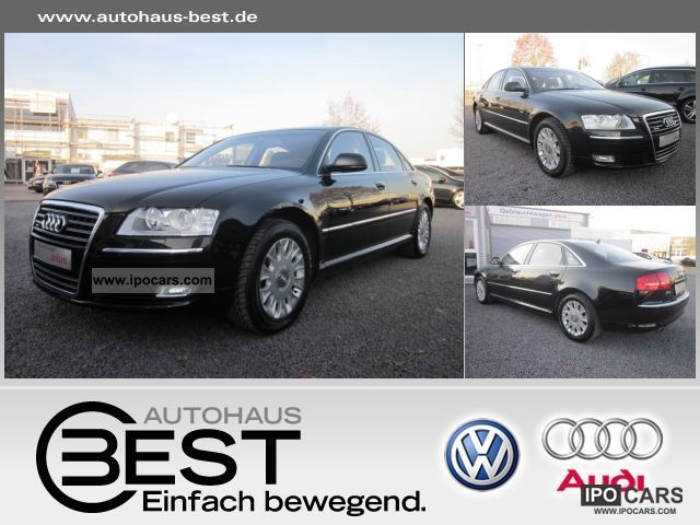 2008 Audi  A8 4.2 FSI air suspension, leather, navigation system, xenon, Limousine Used vehicle photo