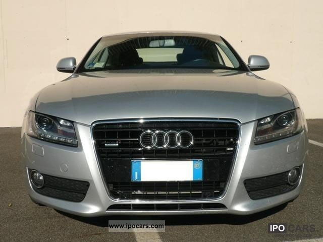 2007 audi a5 3 0 v6 tdi 240 cv fap ambition pelle bi xenon car photo and specs. Black Bedroom Furniture Sets. Home Design Ideas