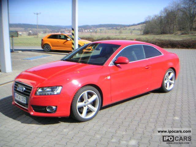 2009 Audi  A5 2.7 TDI S-line sports package plus Sports car/Coupe Used vehicle photo