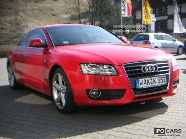 2009 audi a5 2 7 tdi s line sports package plus car photo and specs. Black Bedroom Furniture Sets. Home Design Ideas
