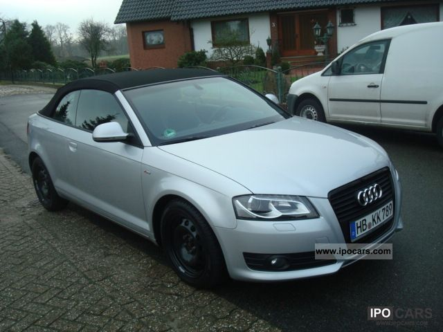 2010 audi a3 cabriolet 2 0 tdi s tronic s line sportpa car photo and specs. Black Bedroom Furniture Sets. Home Design Ideas