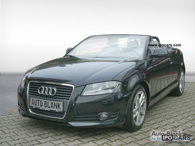 2009 audi a3 convertible 2 0 liter tfsi ambition automatic car photo and specs. Black Bedroom Furniture Sets. Home Design Ideas