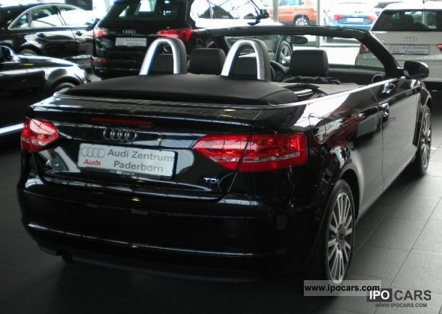 2011 Audi  A3 Convertible 2.0 TDI Leather / Xenon Xenon ambition plu Cabrio / roadster Demonstration Vehicle photo