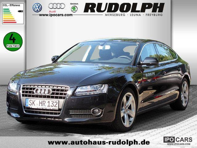 2011 Audi  A5 Sportback 2.0 TDI SITZHEIZUNG PDC XENON Limousine Demonstration Vehicle photo