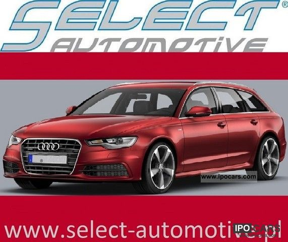 2012 Audi  A6 AVANT NOWY 22% DISCOUNT Estate Car Used vehicle photo