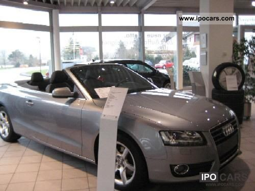 2010 Audi  A5 Cabriolet 1.8 TFSI 118 (160) kW (PS) 6 speed Cabrio / roadster Used vehicle photo