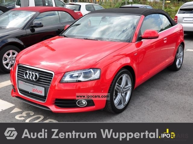 2010 audi a3 cabriolet 2 0 tfsi s line navi xenon bose led car photo and specs. Black Bedroom Furniture Sets. Home Design Ideas