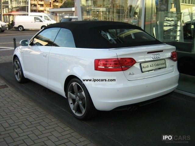 2011 audi a3 cabriolet 1 4 tfsi s line air navi xenon car photo and specs. Black Bedroom Furniture Sets. Home Design Ideas