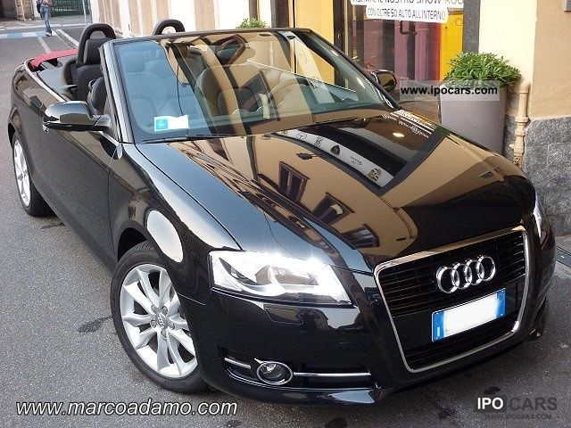 2011 Audi  A3 Convertible 2.0 TDI Ambition S Tronic Limited Cabrio / roadster Used vehicle photo