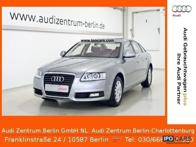 2010 Audi  A6 Saloon 2.7 TDI 6-speed AIR NAVI XENON ALU Limousine Used vehicle photo