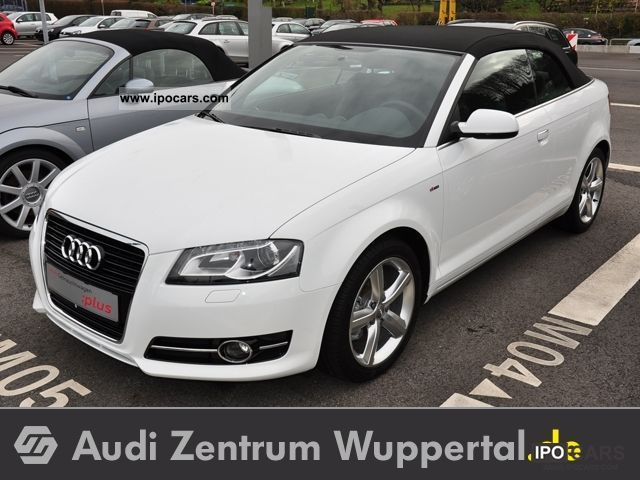 2011 Audi  A3 Convertible 2.0 TDI Ambition - Leather, Climate, Xenon, S Cabrio / roadster Used vehicle photo
