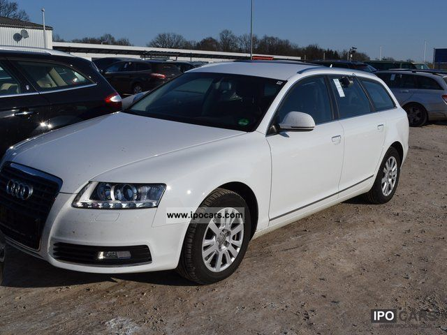 2010 audi a6 avant 2 7 tdi car photo and specs. Black Bedroom Furniture Sets. Home Design Ideas