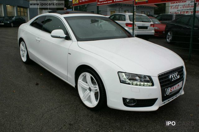 2009 audi a5 2 7 tdi s line pano navi dvd auto 1 hand car photo and specs. Black Bedroom Furniture Sets. Home Design Ideas